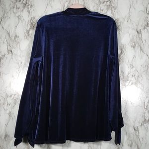 Anthropologie Sweaters - Anthropologie W5 Concepts Velvet Cardigan XL T162